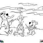 Yogi Bear kleurplaten -