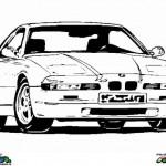 Auto's kleurplaten -