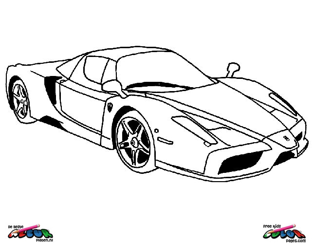 Auto024 de beste kleurplaten - Porche para colorear ...