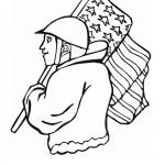 Veteranendag kleurplaten -