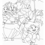 Sinterklaas kleurplaten -