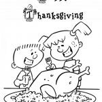 Thanksgiving Day kleurplaten -