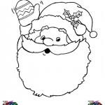 Kerst kleurplaten -