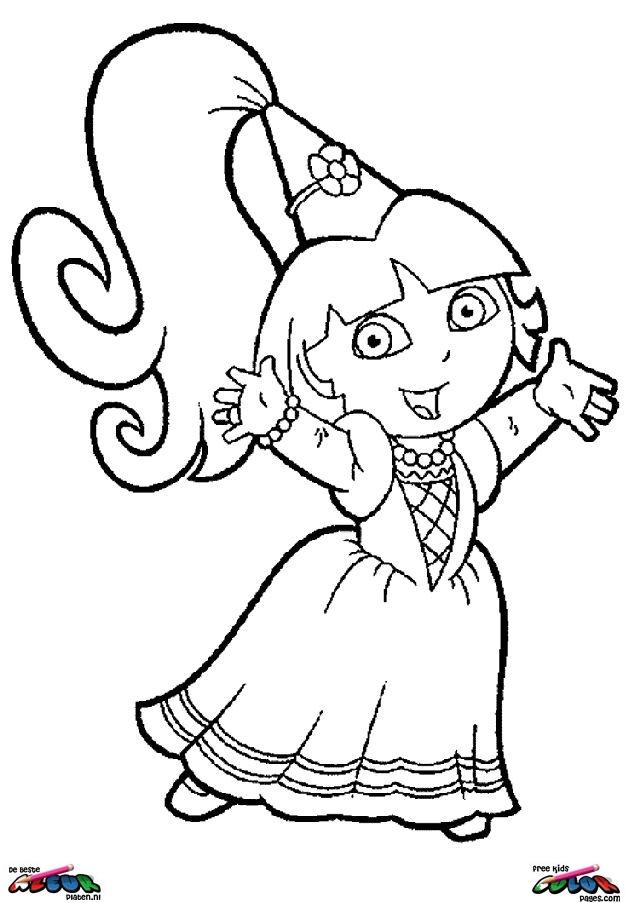 Kleurplaat Minnie En Mickey Mouse Dora The Explorer017 De Beste Kleurplaten