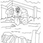 Hulk kleurplaten -