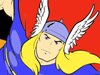 Thor kleurplaten -