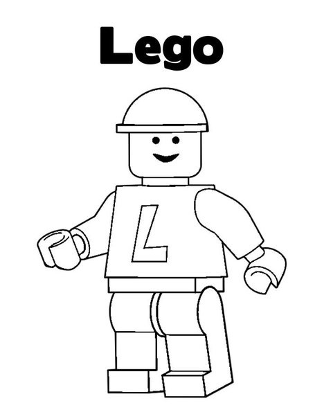 lego logo coloring pages - photo#2