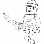 Lego kleurplaten -