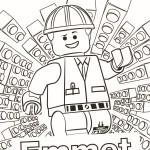 Lego Movie kleurplaten -