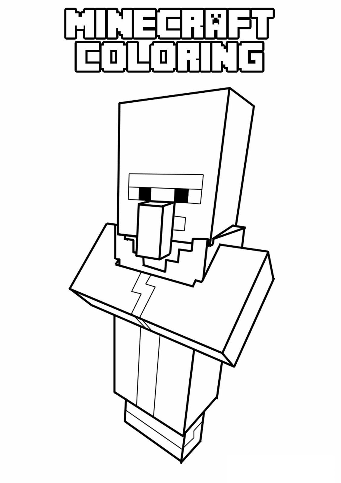minecraft 13 de beste kleurplaten