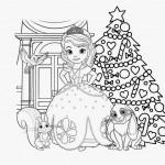 Sofia het Prinsesje kleurplaten -