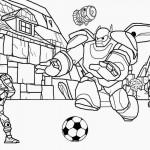 Big Hero 6 kleurplaten -