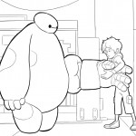 Big Hero 6 kleurplaten -