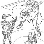 Star Wars kleurplaten -